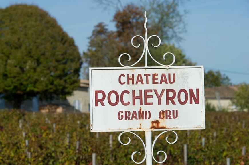 chateau rocheyron - Sisseck