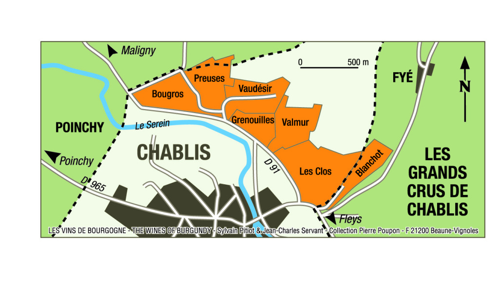 chablis grand cru marker