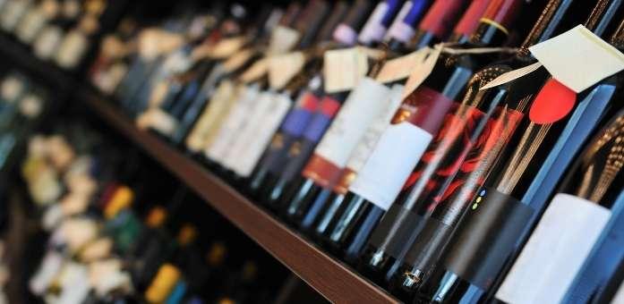 januar udsalg med masser af vin