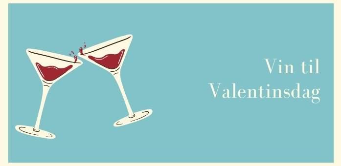 vin til valentinsdag